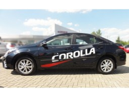 Toyota Corolla '12- side protection set