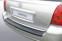 Toyota Avensis II 2003-2008 wagon rear bumper protector ABS (TOY8AVBP)