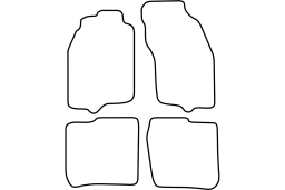 Volvo V40 1995-2000 car mat set (VOL1V4MV)