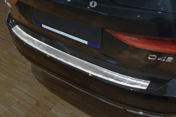 Volvo V90 II 2016-> wagon rear bumper protector stainless steel (VOL1V9BP) (1)