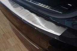 Volvo V90 II 2016-> wagon rear bumper protector stainless steel (VOL1V9BP) (4)