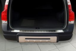 Volvo XC70 (P26) 2004-2007 wagon rear bumper protector stainless steel (VOL1X7BP) (2)