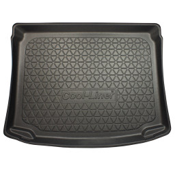 Volkswagen Golf Plus (1KP) 2004-2014 5d trunk mat anti slip PE/TPE (VW10GOTM)