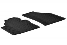 Volkswagen Caddy - Caddy Maxi (2K) 2004-present car mats set anti-slip Rubbasol rubber (VW1CAFR)