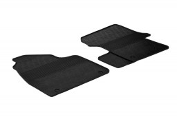 Volkswagen Crafter I 2006-2017 car mats set anti-slip Rubbasol rubber (VW1CRFR)
