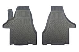 Volkswagen Transporter T5 2003-2015 car mat set PE/TPE rubber (VW1T5FM) (1)