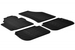 Volkswagen Caddy - Caddy Maxi (2K) 2004-present car mats set anti-slip Rubbasol rubber (VW2CAFR)