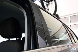 Volkswagen Golf VII Variant (5G) 2013-present wagon B-pillar cover set carbon 4 pcs (VW2GOM)