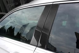 Volkswagen Tiguan II 2015-present B-pillar cover set carbon 4 pcs (VW2TIM)