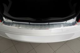Volkswagen up! 2011-> 3 & 5-door hatchback rear bumper protector stainless steel (VW3UPBP) (2)