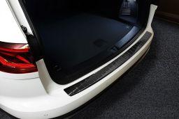 Edelstahl MATT Ladekantenschutz für VW TOUAREG IITYP 7PBJ 2010-2018