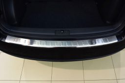 Volkswagen Golf Plus (1KP) 2004-2008 5-door hatchback rear bumper protector stainless steel (VW6GOBP) (1)