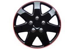 Michigan wheel cover set 15 inch - Radkappensatz 15 Zoll - wieldoppenset 15 inch - Jeu d'enjoliveurs 15 pouces (WHC098-15)