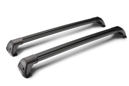 Whispbar Flush Bar roof rack bars set black / Dachträger Schwarz / dakdragers set zwart / jeu de barres de toit noir