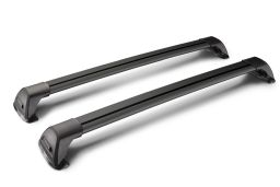 Whispbar Flush Bar roof rack bars set black / Dachträger Schwarz / dakdragers set zwart / jeu de barres de toit noir (1)