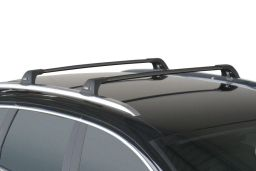 Whispbar Flush Bar roof rack bars set black / Dachträger Schwarz / dakdragers set zwart / jeu de barres de toit noir (3R)