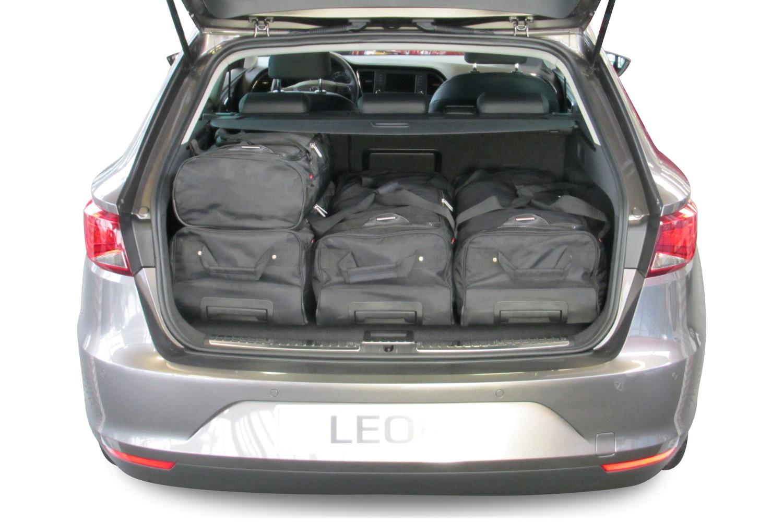 leon st 5f 2014 heden seat leon st 5f 2014 heden car bags reistassenset. Black Bedroom Furniture Sets. Home Design Ideas