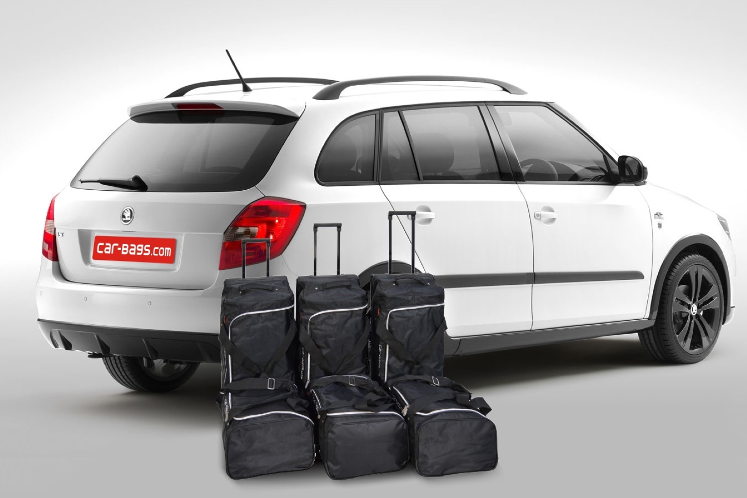 skoda fabia ii combi 5j car travel bags car parts expert. Black Bedroom Furniture Sets. Home Design Ideas