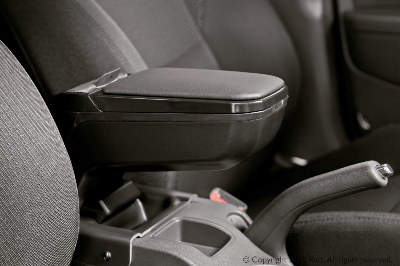 seat arona kj armrest armster 2 black car parts expert. Black Bedroom Furniture Sets. Home Design Ideas