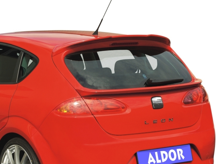 Roof spoiler Seat Leon (1P excl. facelift) 2005-2009 5-door hatchback