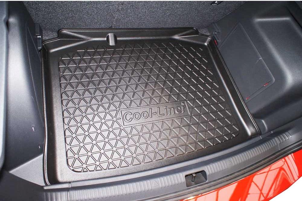 Seuil Lackschutz aluminium pour Skoda Rapid Spaceback NH 160µm noir mat