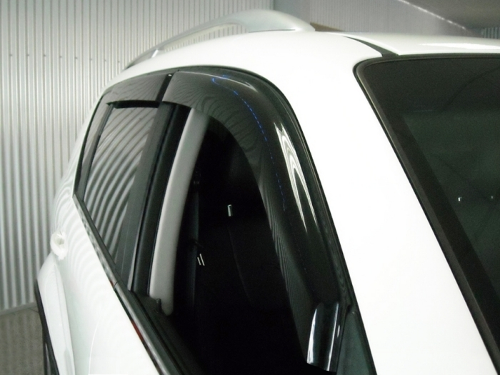 Side window deflectors SsangYong Rexton W 2013-2017 set 4 pieces