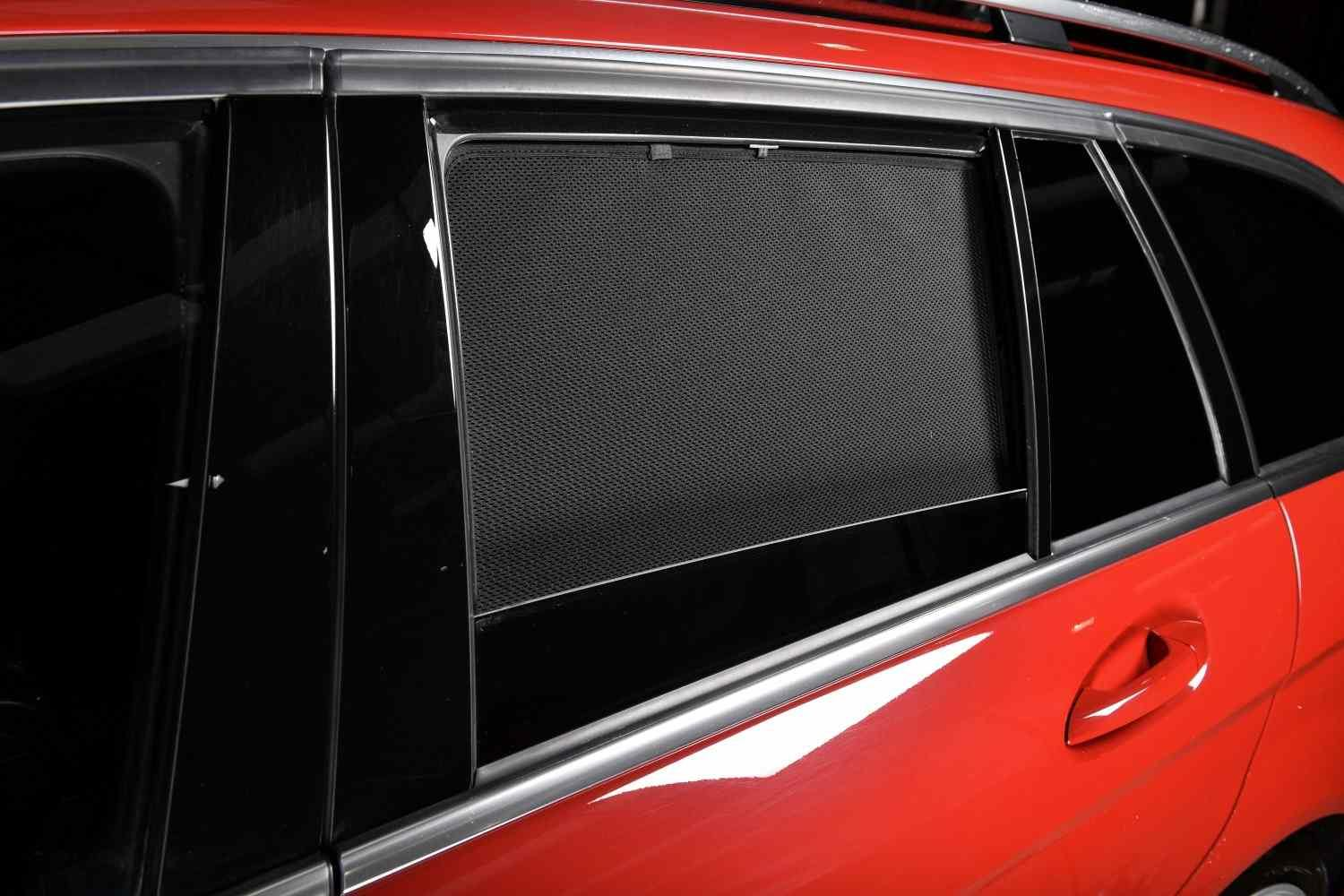 Set Car Shades compatible with SsangYong Musso 5 doors 1993-2005