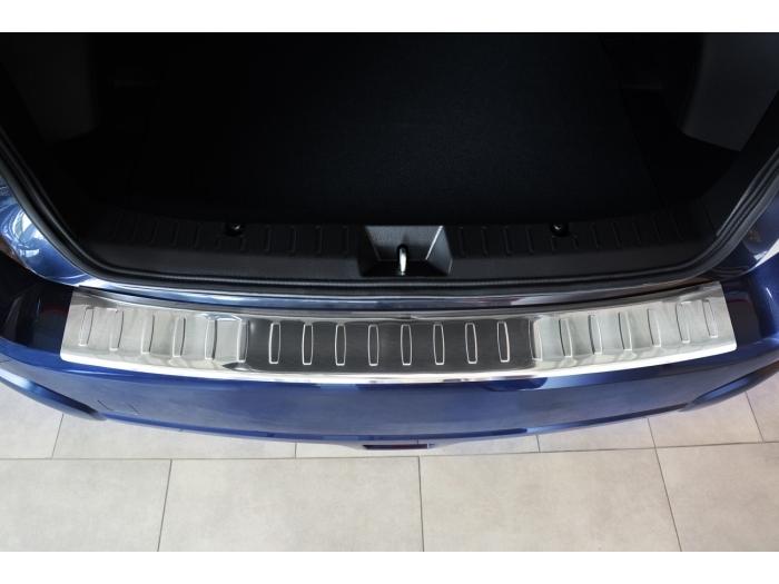 Subaru XV I 2012-2017 rear bumper protector stainless steel