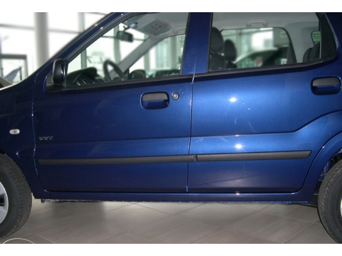 Door protectors Suzuki Ignis 2000-2008 5-door hatchback set