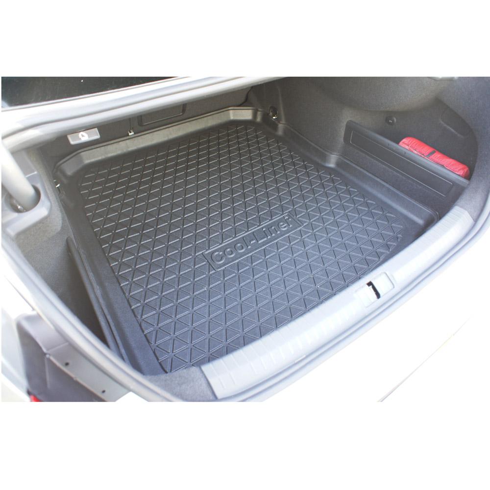 Rubber floor mats vw passat - Volkswagen Passat B8 2014 4d Trunk Mat Anti Slip Pe Tpe