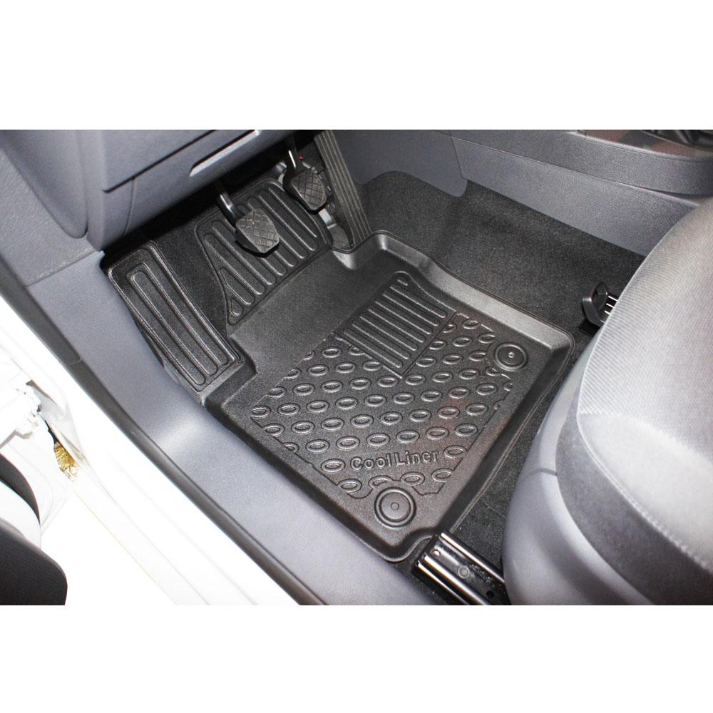 3d-tpe Caoutchouc Tapis De Sol Pour VW Volkswagen Caddy Maxi Comfortline 2k hochda 5 Design