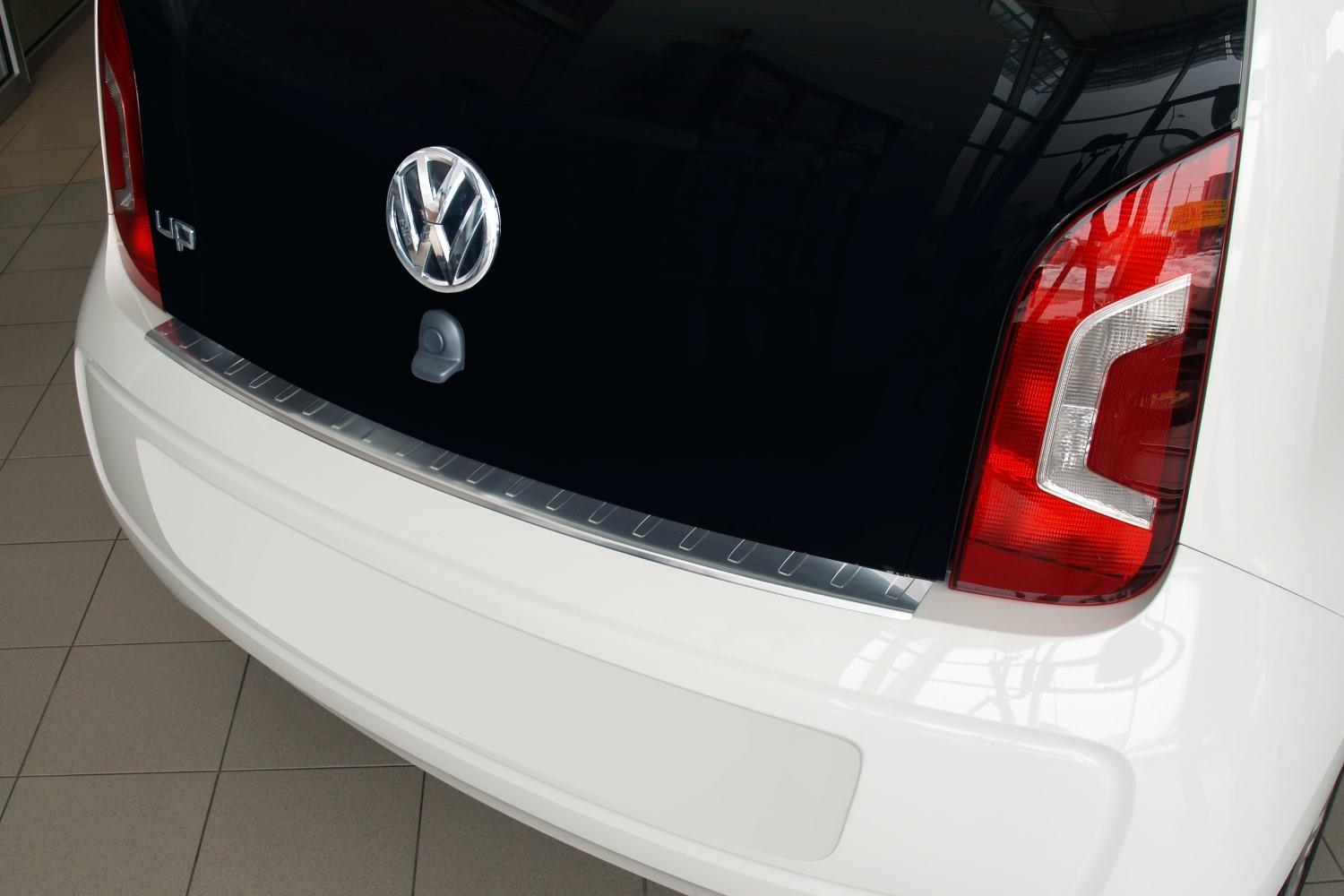 Rear bumper protector Volkswagen up! 2011-present 3 & 5-door hatchback stainless steel