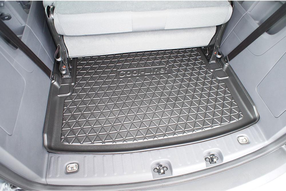 Kofferraumwanne matte für VW Caddy Maxi 2007 Hinweis