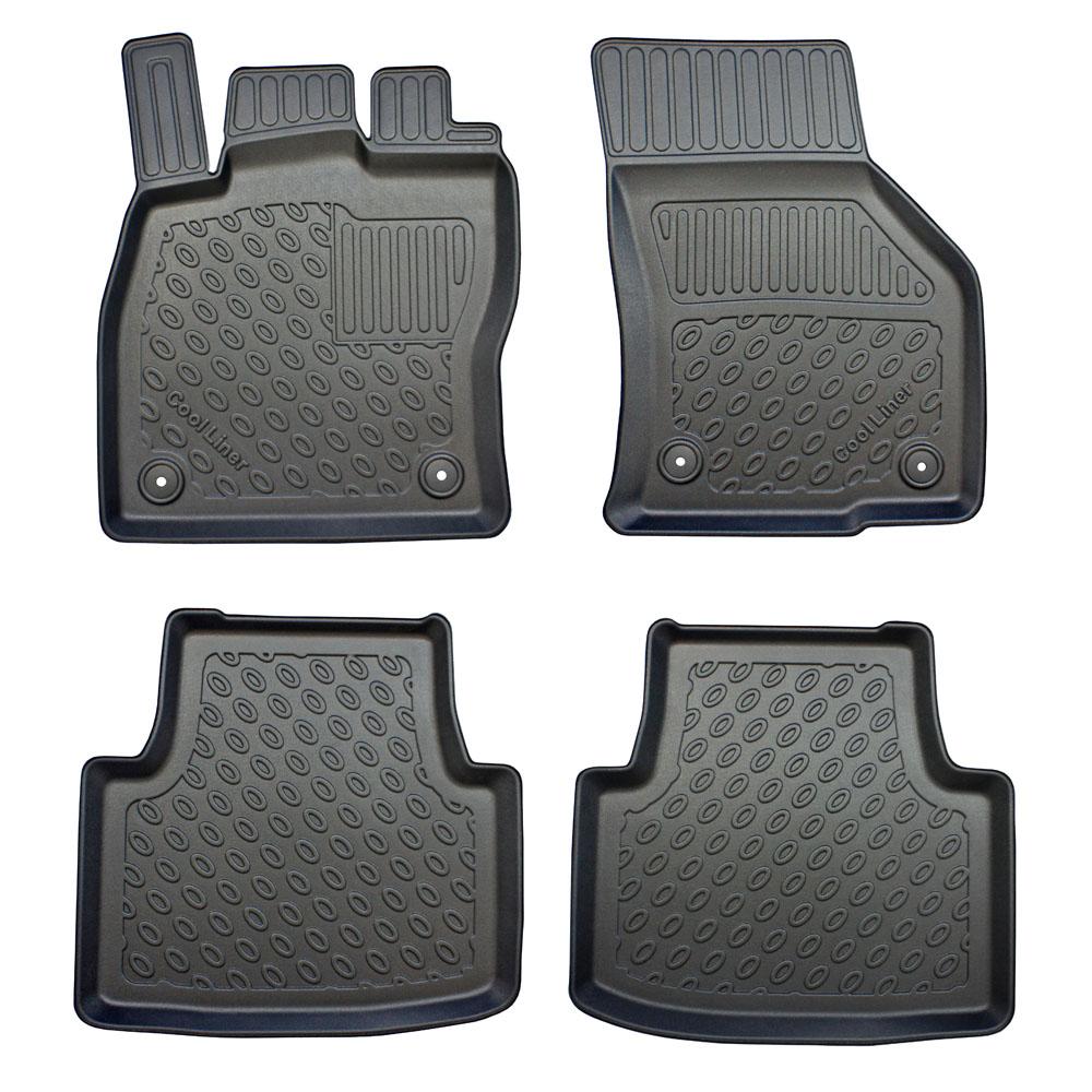 Rubber floor mats vw passat - Volkswagen Passat B8 2014 4d Foot Mat Set Pe Tpe Rubber
