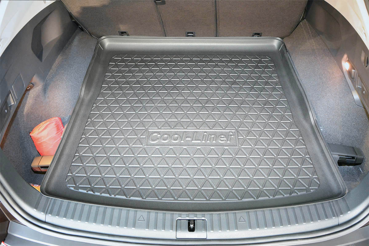 VW TIGUAN mk2 since 2015 upper trunk Rubber Boot Mat